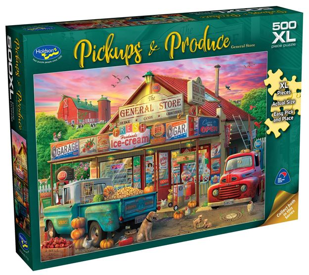 Picture of Holdson Puzzle - Pickups & Produce 500pc XL (General Store)