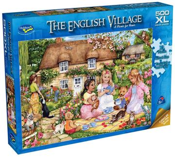 Picture of Holdson Puzzle - The English Village Series 2  XL(A Picnic For Bears)