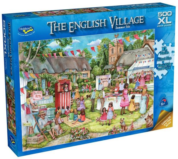 Picture of Holdson Puzzle - The English Village Series 2 XL(Summer Fete)