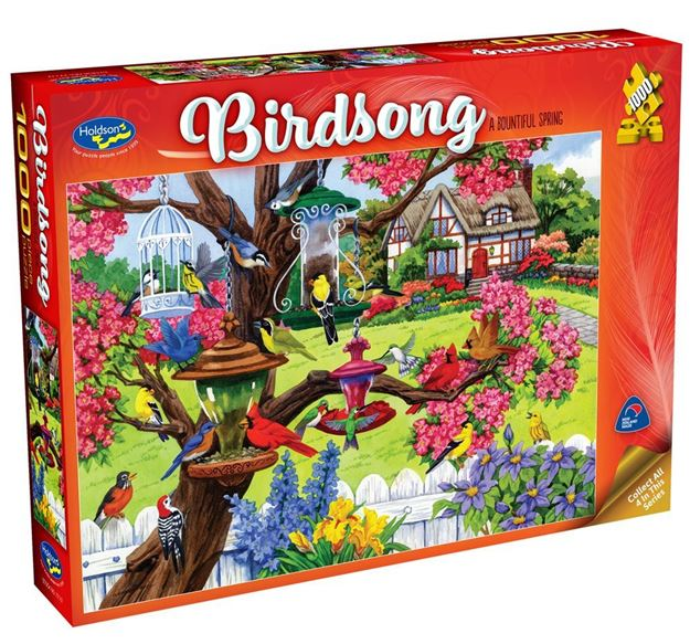 Picture of Holdson Puzzle - Birdsong (A Bountiful Spring)