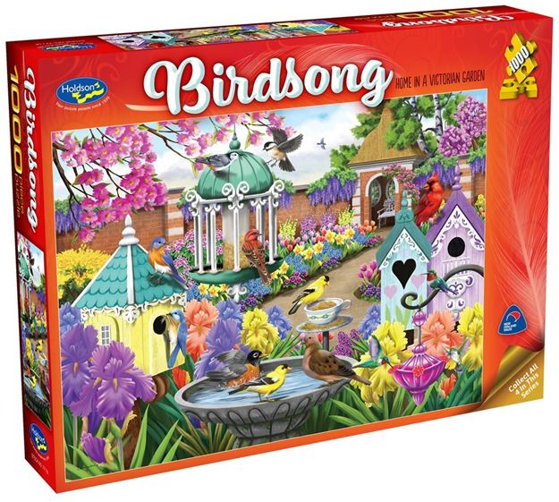 Picture of Holdson Puzzle - Birdsong (Home in a Victorian Garden)