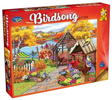 Picture of Holdson Puzzle - Birdsong (Rustic Garden)