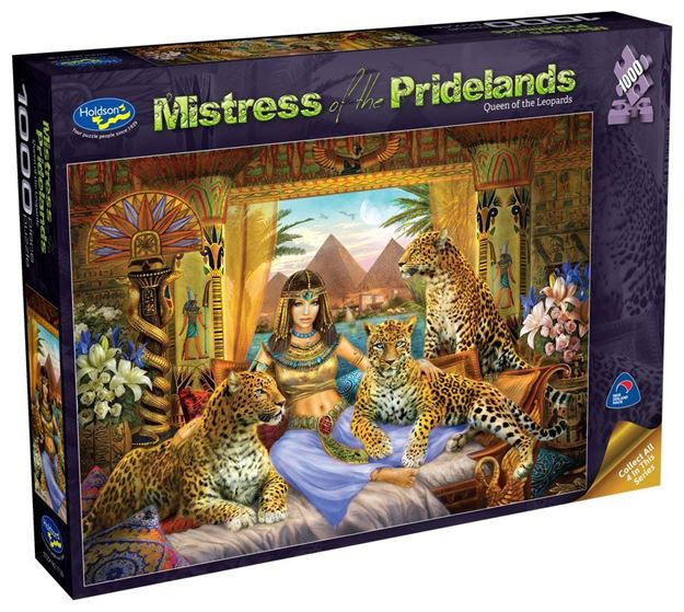 Picture of Holdson Puzzle - Mistress of the Pridelands (Queen of the Leopards)