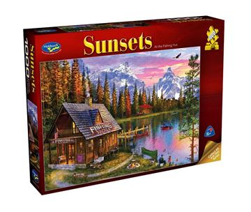 Picture of Holdson Puzzle - Sunsets S3 1000pc (At The Fishing Hut)