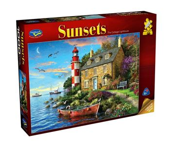 Picture of Holdson Puzzle - Sunsets 1000pc (The Cottage Lighthouse)