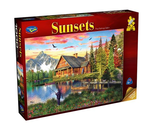 Picture of Holdson Puzzle - Sunsets S3 1000pc (The Fishing Cabin)