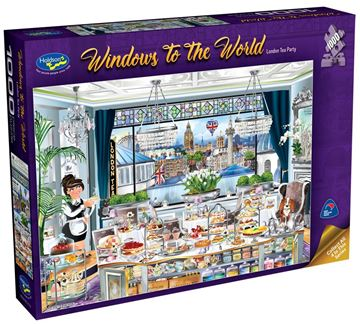 Picture of Holdson Puzzle  - Windows to the World - (London Tea Party)