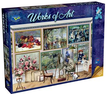 Picture of Holdson Puzzle - Works of Art (Renoir At Work)