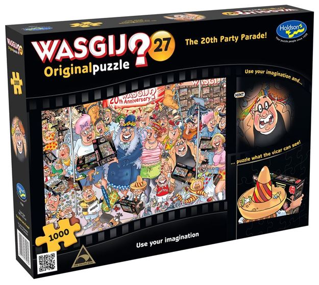 Picture of Holdson Puzzle - Wasgij Original 27 1000pc (The 20th Party Parade!)
