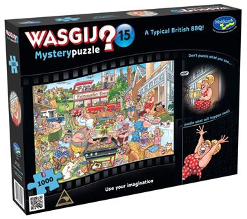 Picture of Holdson Puzzle - Wasgij Mystery 15 1000pc (A Typical British BBQ)