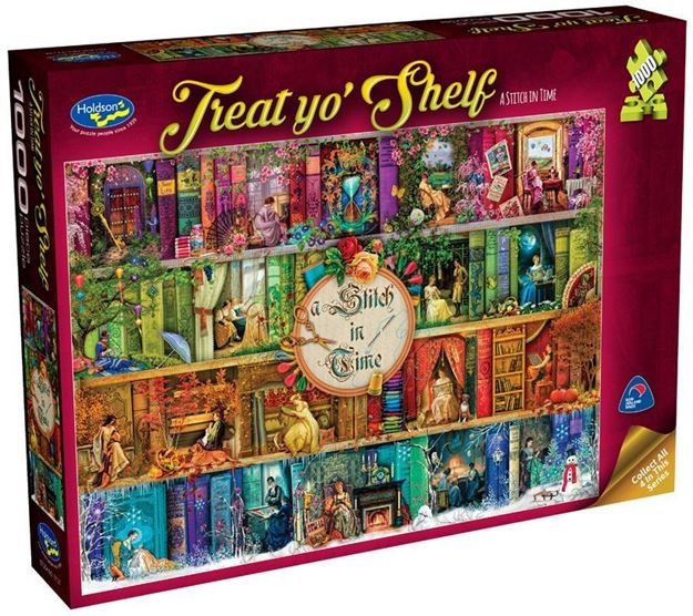 Picture of Holdson Puzzle - Treat yo' Shelf (A Stitch In Time)