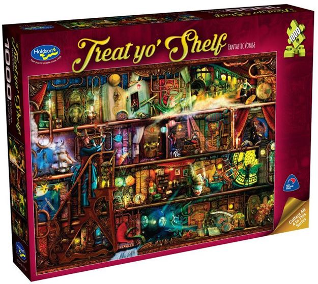 Picture of Holdson Puzzle - Treat yo' Shelf (Fantastic Voyage)