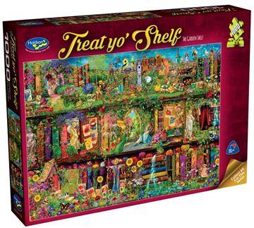 Picture of Holdson Puzzle - Treat yo' Shelf (The Garden Shelf)
