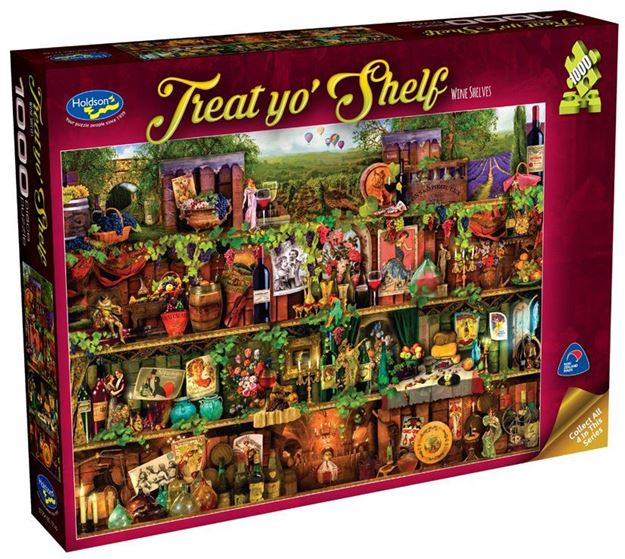 Picture of Holdson Puzzle - Treat yo' Shelf(Wine Shelves)