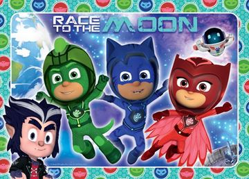 Picture of Holdson Puzzle - Set of Four PJ Masks S2, 35pc Frame Tray Series