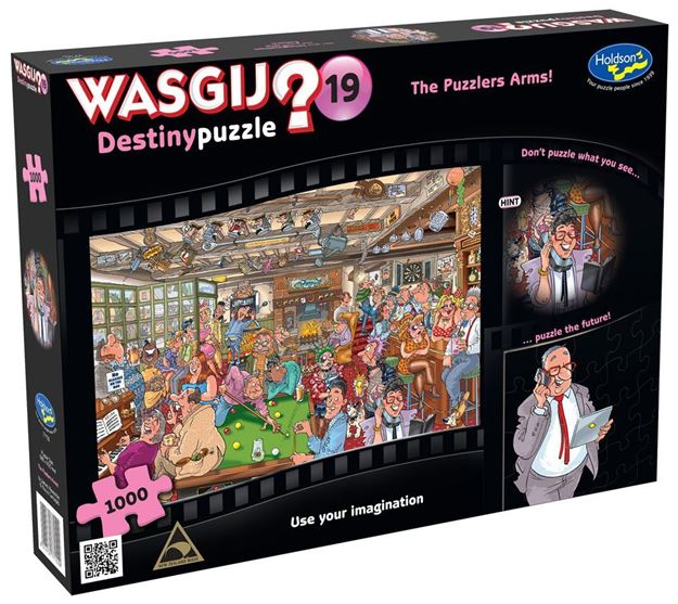 Picture of Holdson Puzzle - Wasgij Destiny 19 1000pc (The Puzzlers Arms!)
