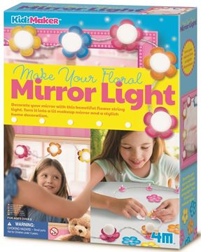Picture of 4M Craft - Floral Mirror Light