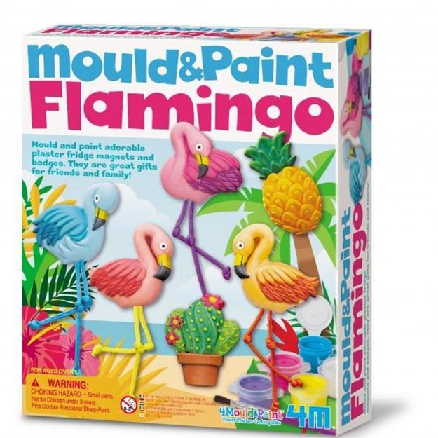 Picture of 4M Craft - Mould & Paint Flamingos
