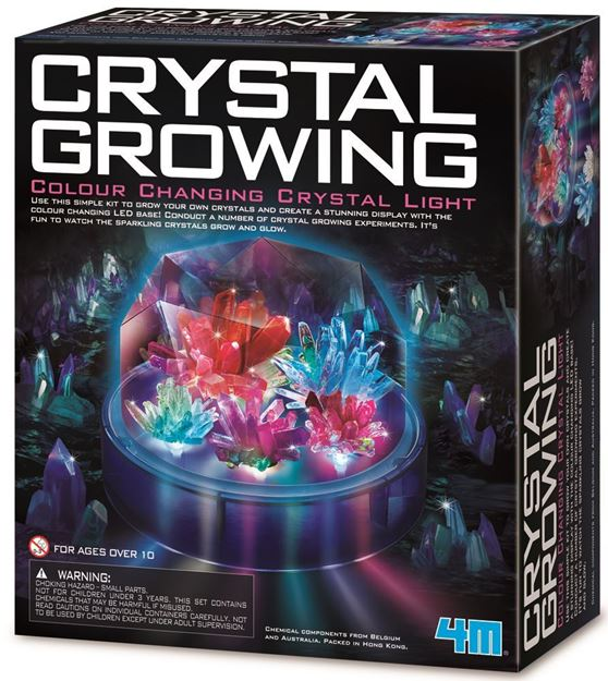 Picture of 4M Science - Crystal Growing Colour Changing Light