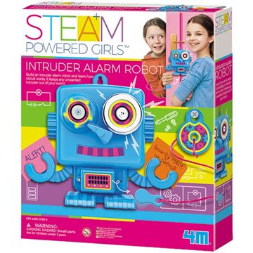 Picture of 4M STEAM Powered Girls - Intruder Alarm Robot