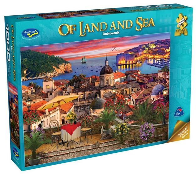 Picture of Holdson Puzzle - Of Land And Sea Series 2 1000pc (Dubrovnik)