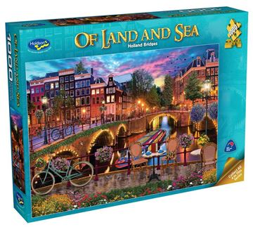 Picture of Holdson Puzzle - Of Land And Sea Series 2 1000pc (Holland Bridges)