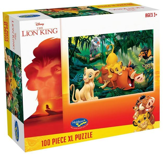 Picture of Holdson Puzzle - The Lion King 100pc XL (Jungle Fun)