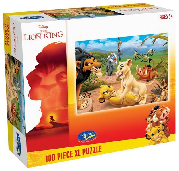 Picture of Holdson Puzzle - The Lion King 100pc XL (Simba's Pride)