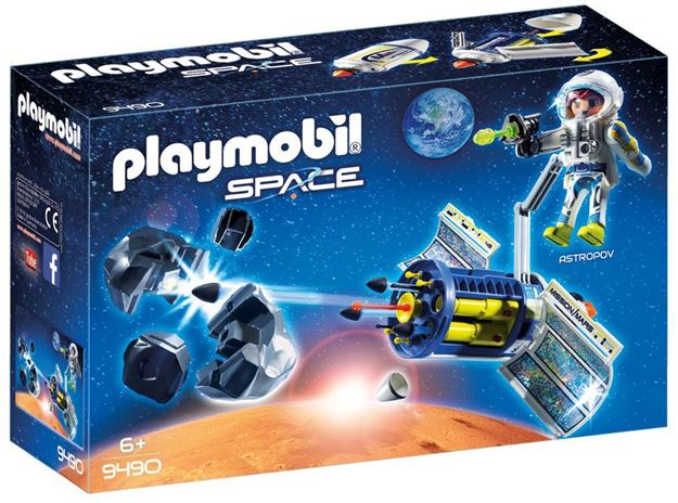 Picture of Playmobil - Satellite Meteoroid Laser