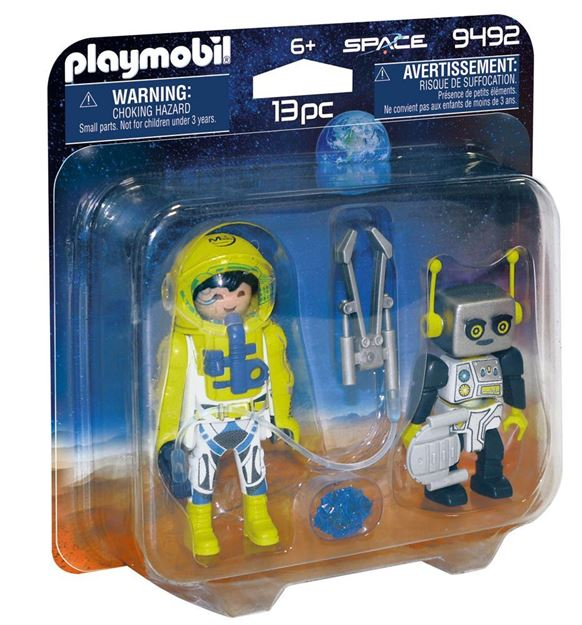 Picture of Playmobil - Astronaut and Robot Duo Pack