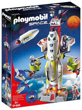 Picture of Playmobil - Mission Rocket with Launch Site