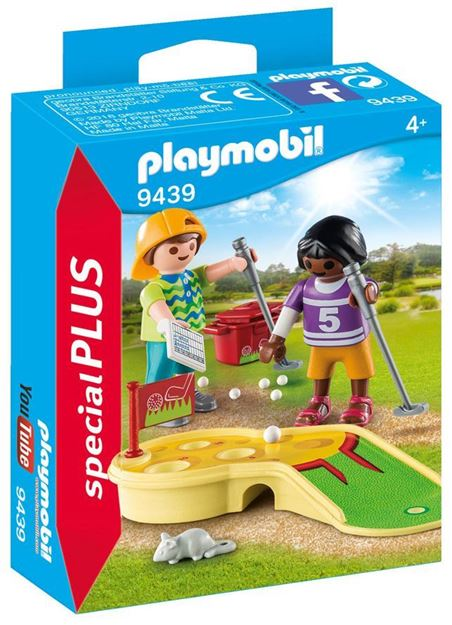 Picture of Playmobil - Children Minigolfing
