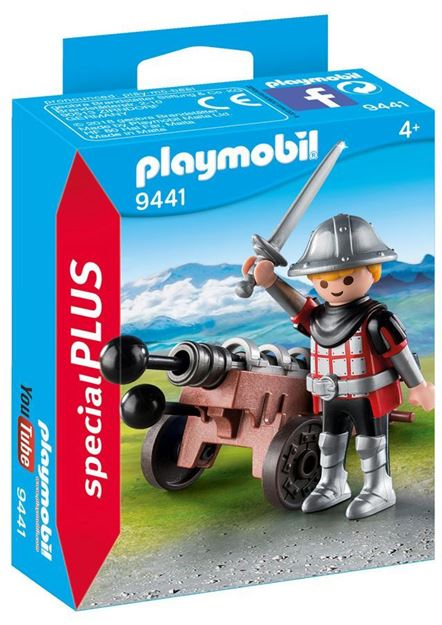 Picture of Playmobil - Knight with Cannon
