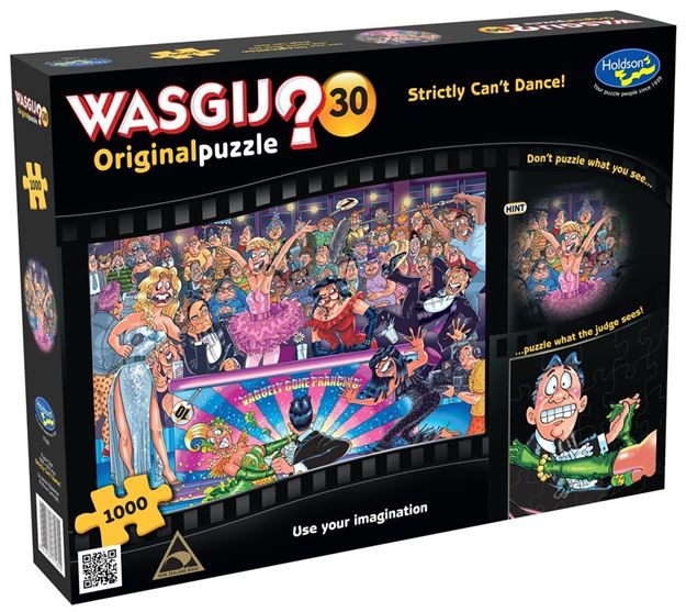 Picture of Holdson Puzzle - Wasgij Original 30 1000pc (Strictly Can't Dance!)