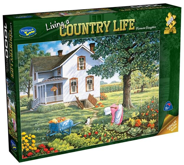 Picture of Holdson Puzzle - Living A Country Life (Farmer's Daughter)