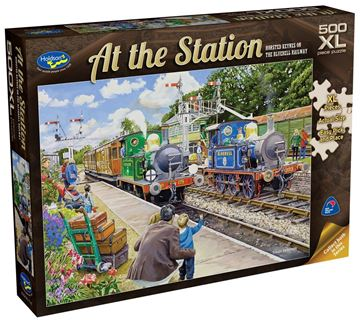 Picture of Holdson Puzzle - At The Station 500pc XL (Horsted Keynes On The Bluebell Railway)