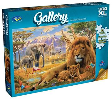 Picture of Holdson Puzzle - Gallery 5 300pc XL (African Savannah)