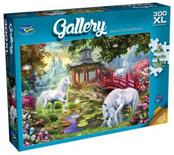 Picture of Holdson Puzzle - Gallery 5 300pc XL (Unicorn Summerhouse)