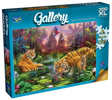 Picture of Holdson Puzzle - Gallery 5 300pc XL (Tigers at the Ancient Stream)