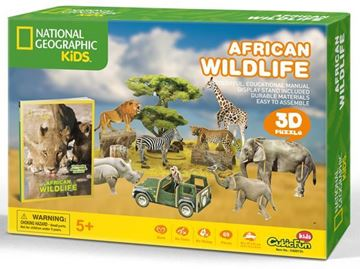 Picture of 3D Puzzle - African Wildlife