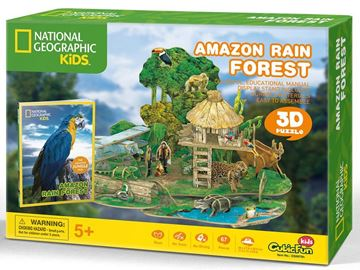 Picture of 3D Puzzle - Amazon Rain Forest