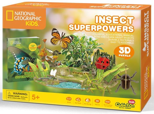 Picture of 3D Puzzle - Insect Superpowers