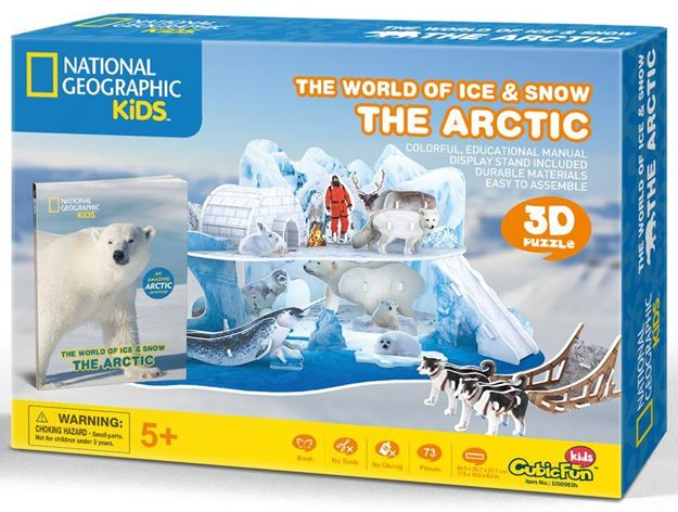 Picture of 3D Puzzle - World of Ice and Snow
