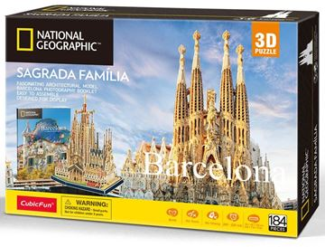 Picture of 3D Puzzle - Barcelona - Sagrada