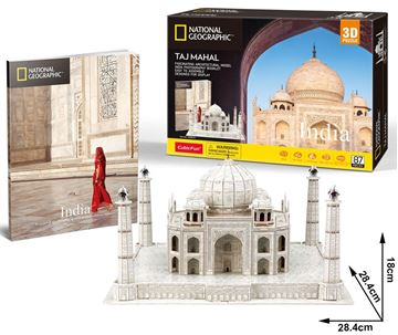 Picture of 3D Puzzle - India - Taj Mahal