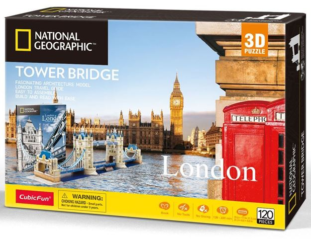 3D Puzzle - London - Tower Bridge