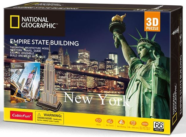 Picture of 3D Puzzle - New York - Empire State Building