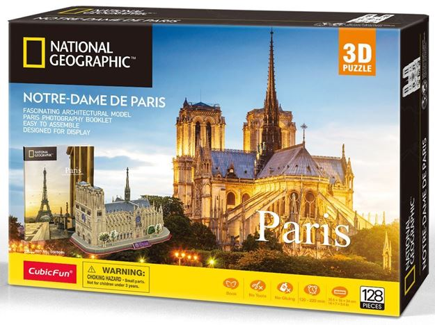 Picture of 3D Puzzle - Paris - Notre Dame