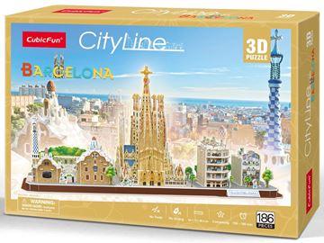 Picture of 3D Puzzle - Barcelona City Line