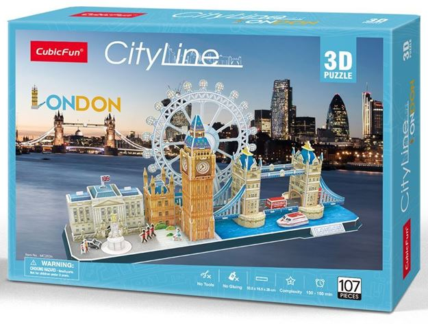 Picture of 3D Puzzle - London City Line